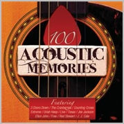 100 Acoustic memories - Various (5CD)